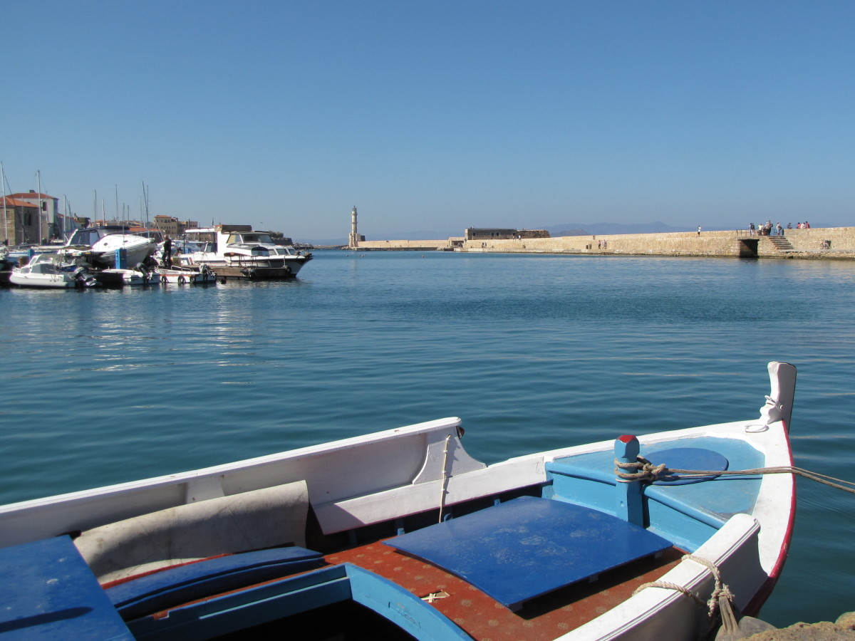 The Harbor of Chania