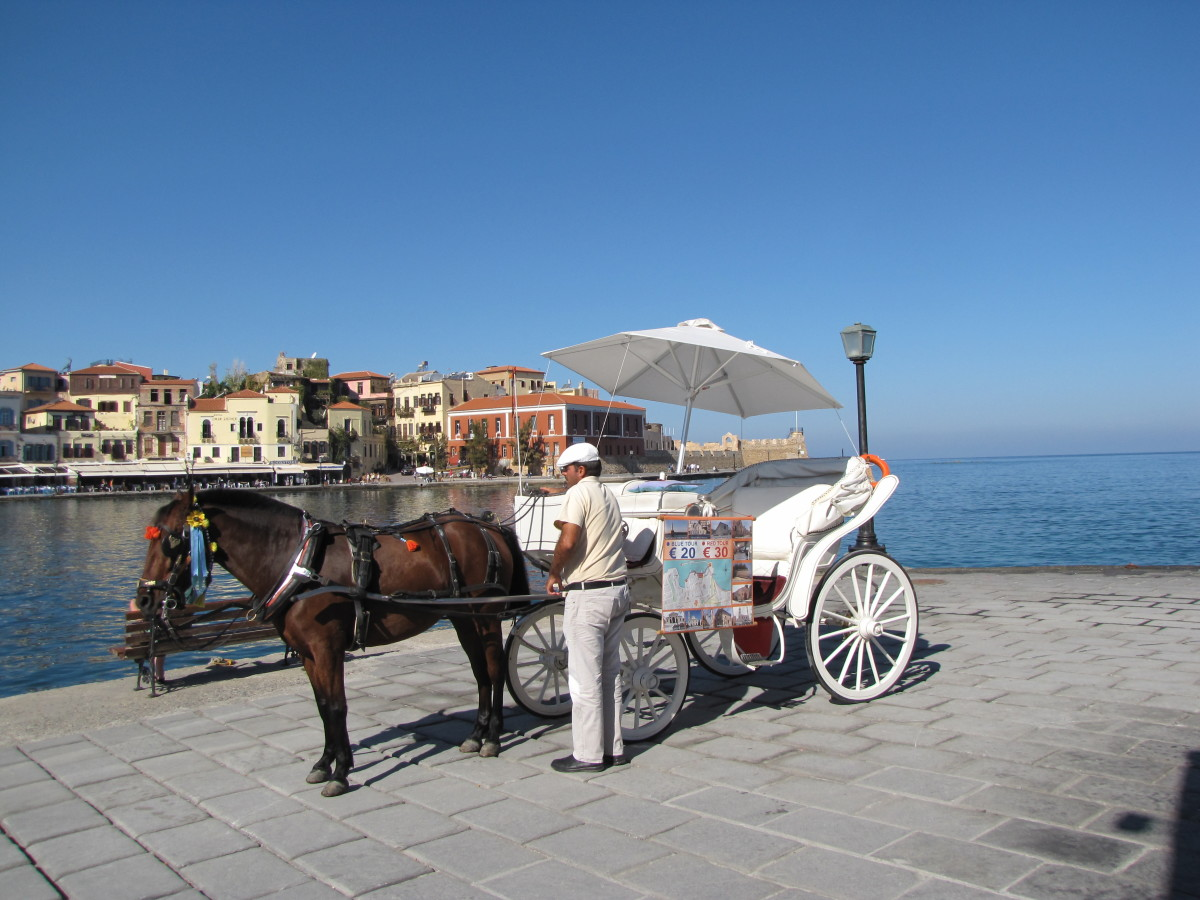 Along the Waterfront - Chania