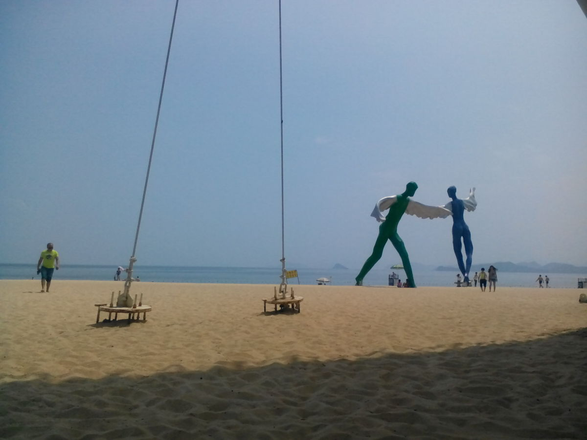 Beautiful Dameisha Beach, Shenzhen