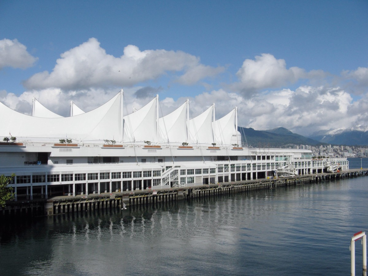 The five sails of Canada Place