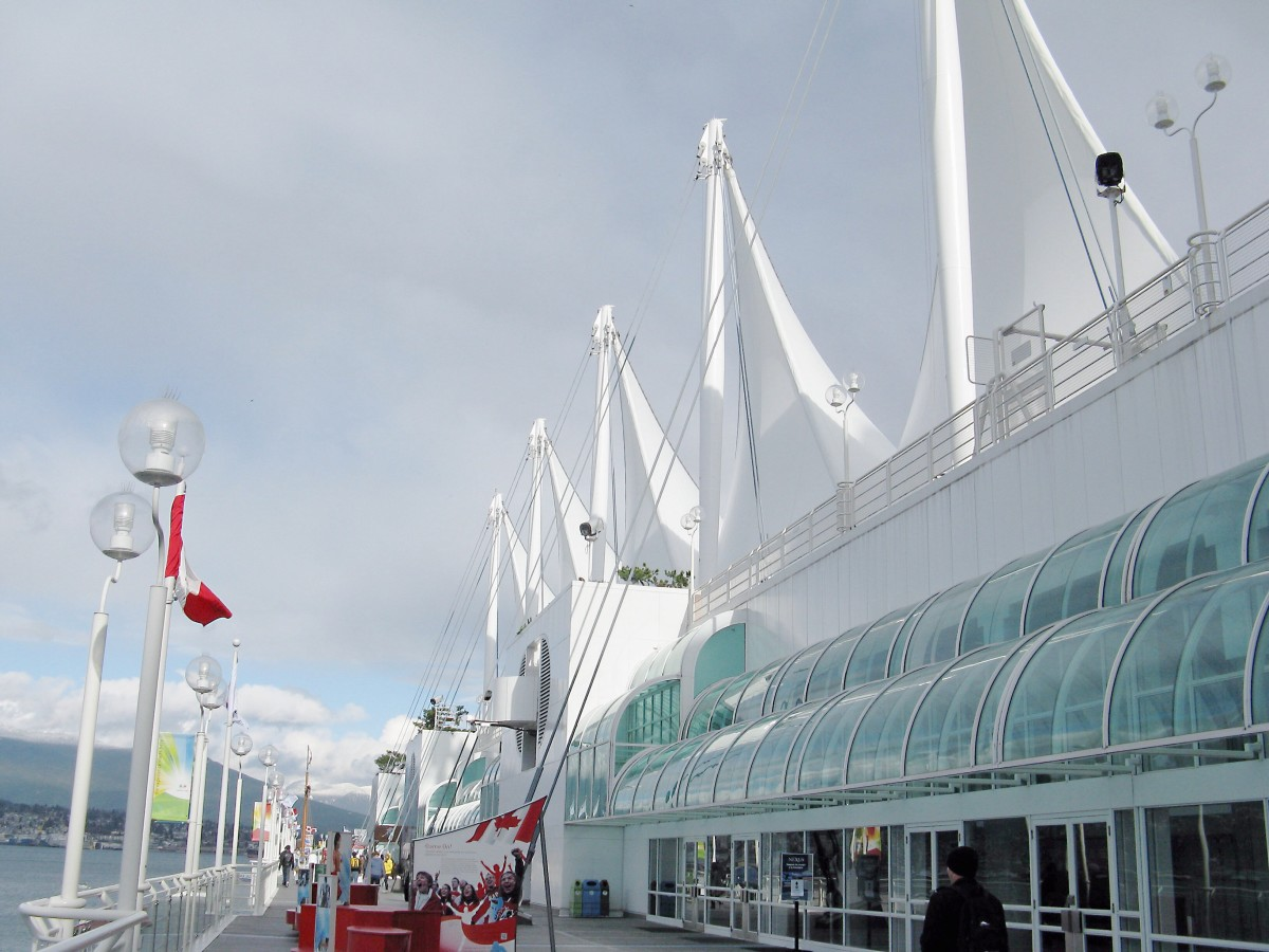 The Canada Place promenade