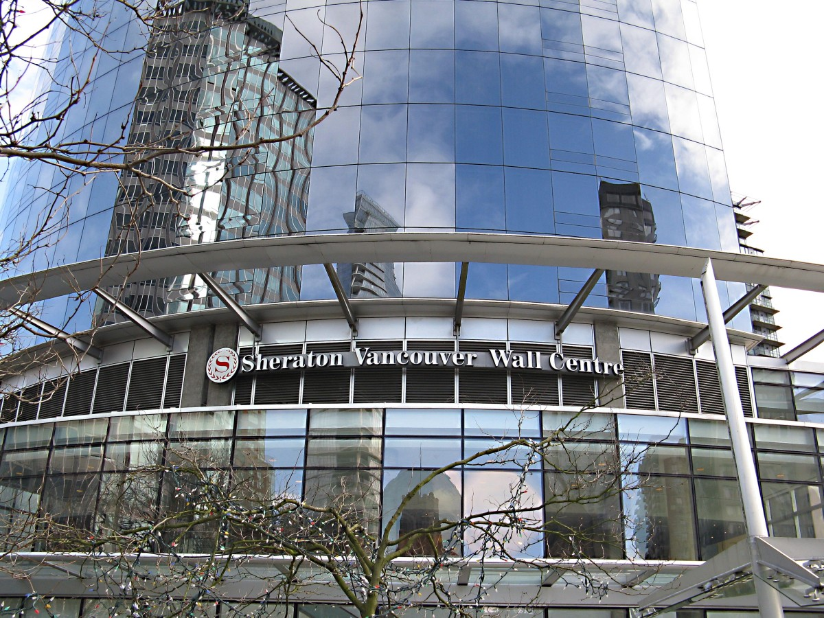 The Sheraton Vancouver Wall Centre, or One Wall Centre