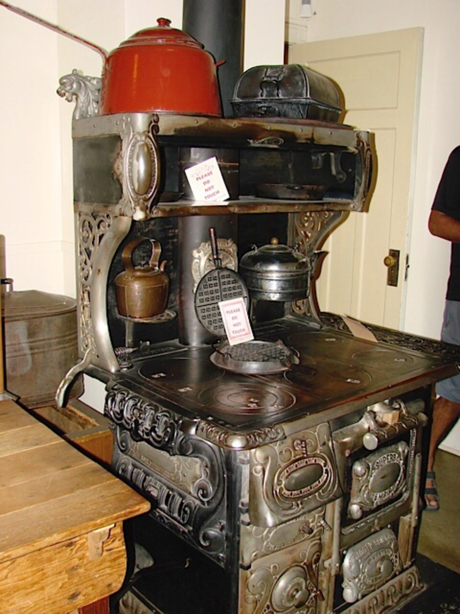 A beautiful stove