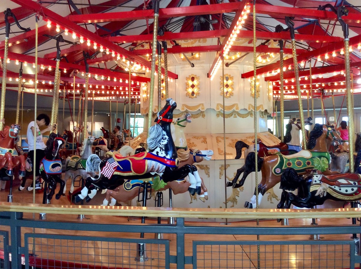 Another view of the carousel
