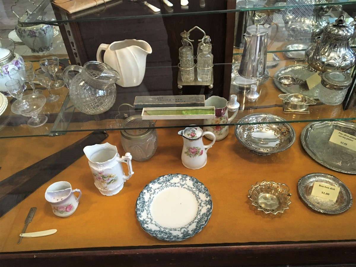 A display in the general store
