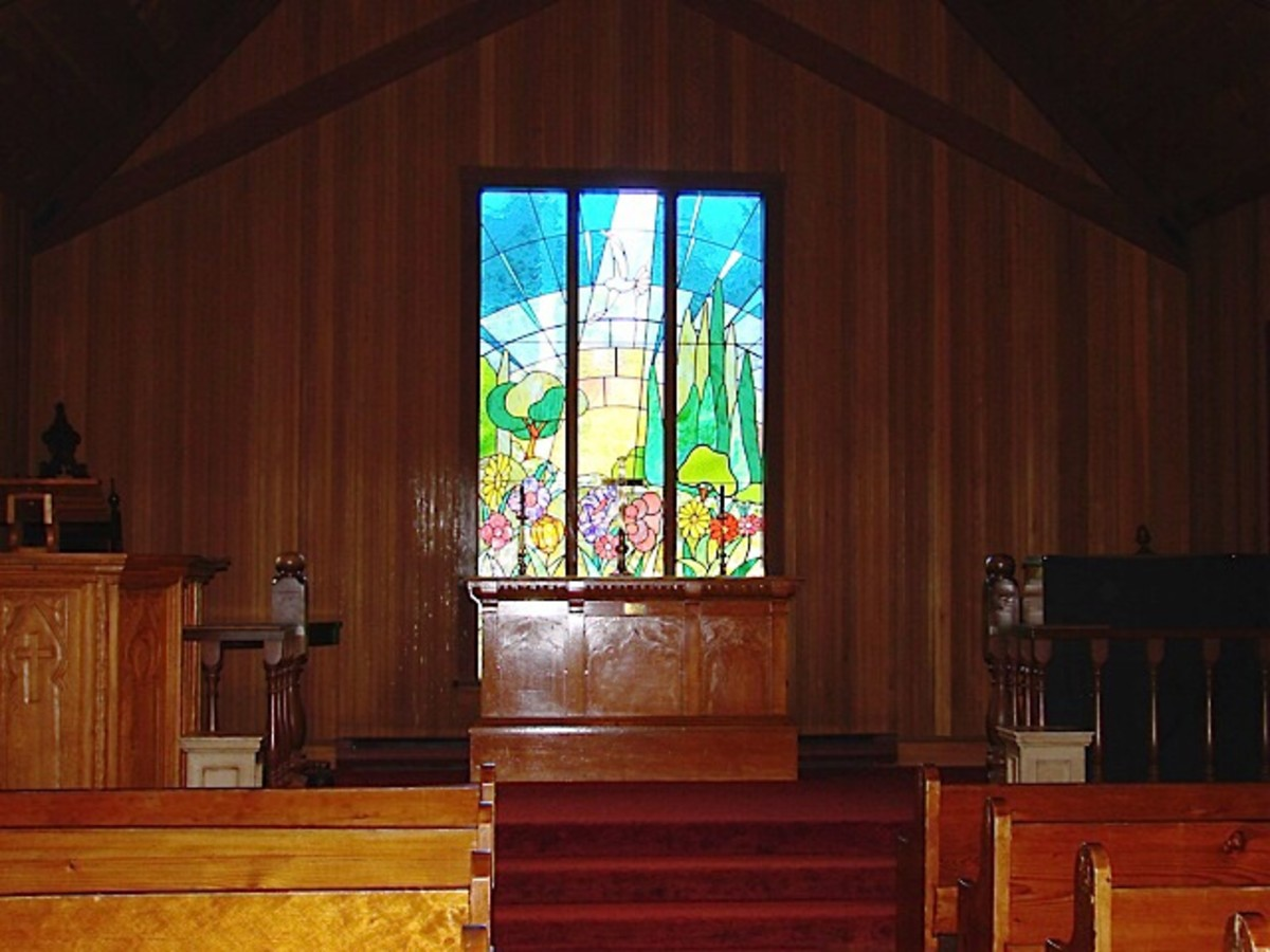 The Chapel at the Burnaby Village Museum