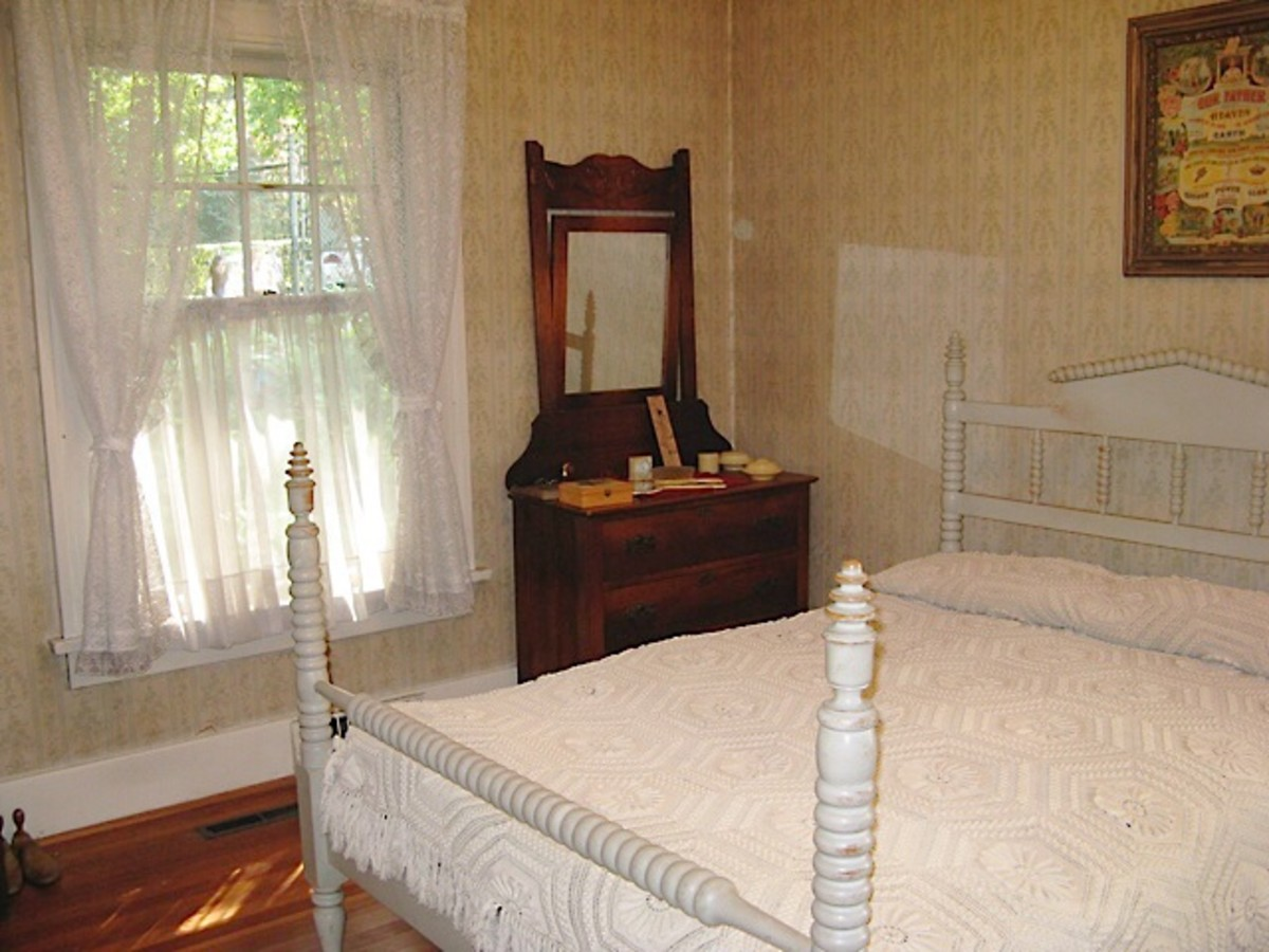 A bedroom at Elworth