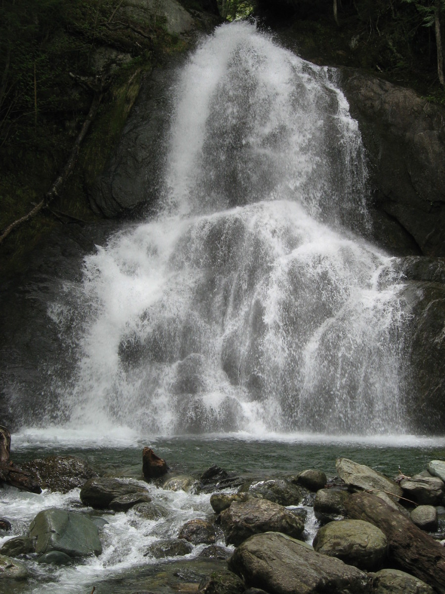 Moss Glenn Falls (Granville)—the most photographed waterfall in the state.