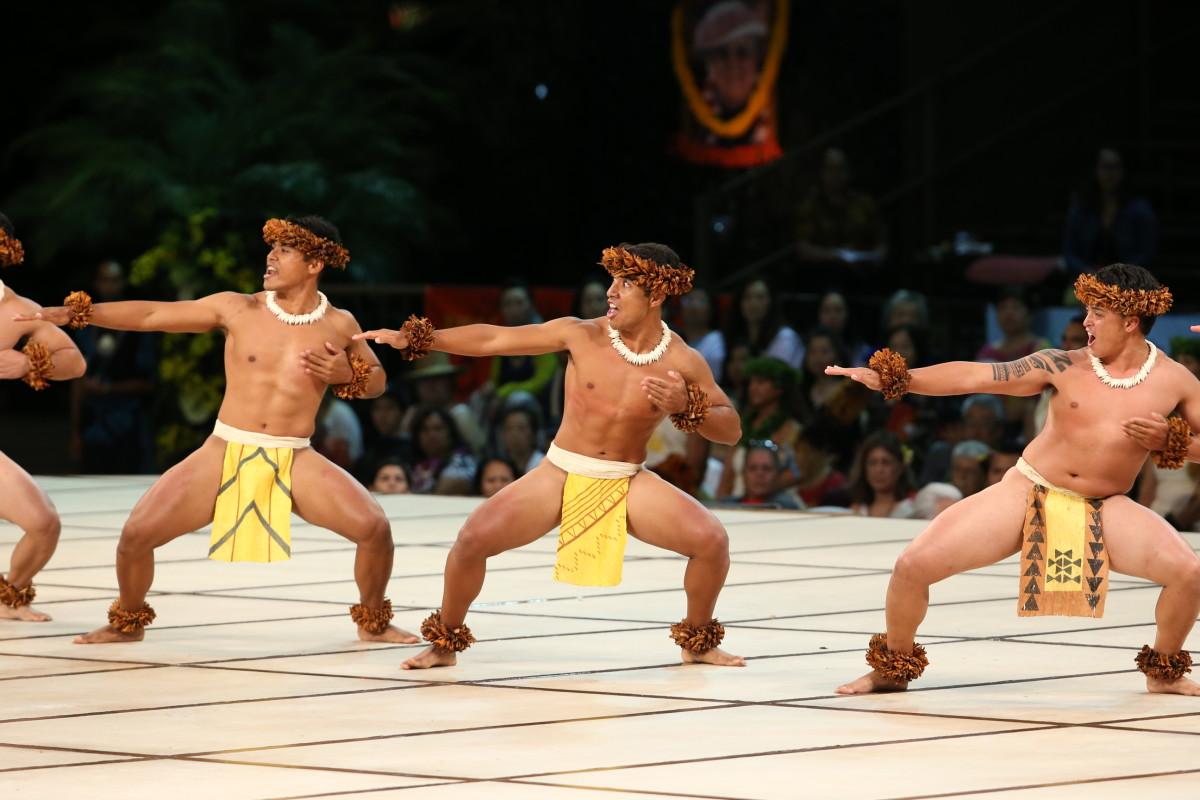 2019: 2nd Place Hula Kahiko Kāne Overall Kawailiʻulā Kumu Hula: Chinky Māhoe