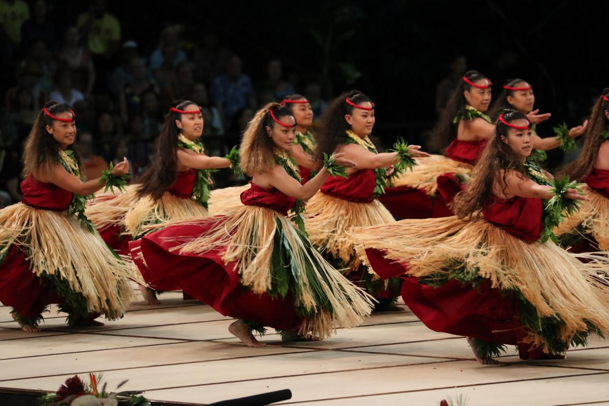 Hālau o Lilinoe Hula: Kāua I Ka Nani A֝o Hula,  Nā Kumu Hula: Sissy & Lilinoe Kaio Moku: Carson, California