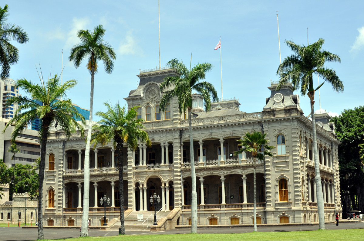 'Iolani Palace—the only royal palace in the United States.