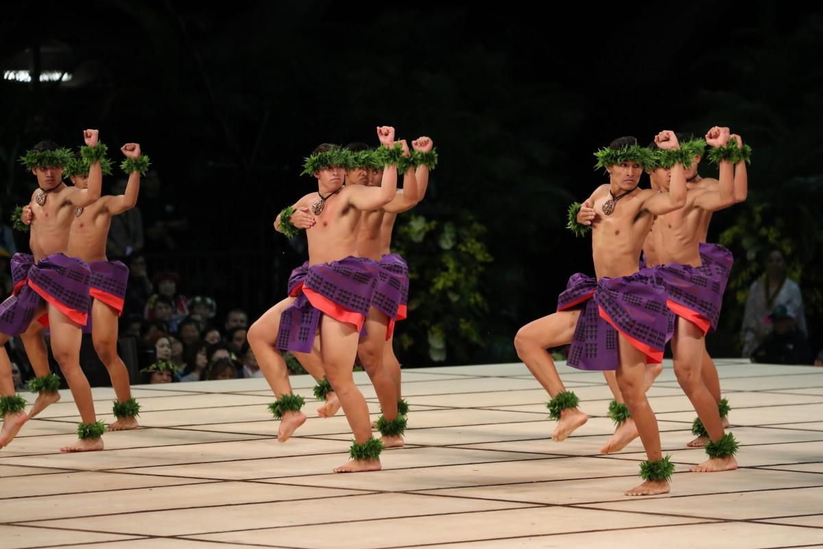 4TH PLACE Kāne Kahiko 2019 Kawaiʻulaokalā Kumu Hula: Keliʻihoʻomali Puchalski