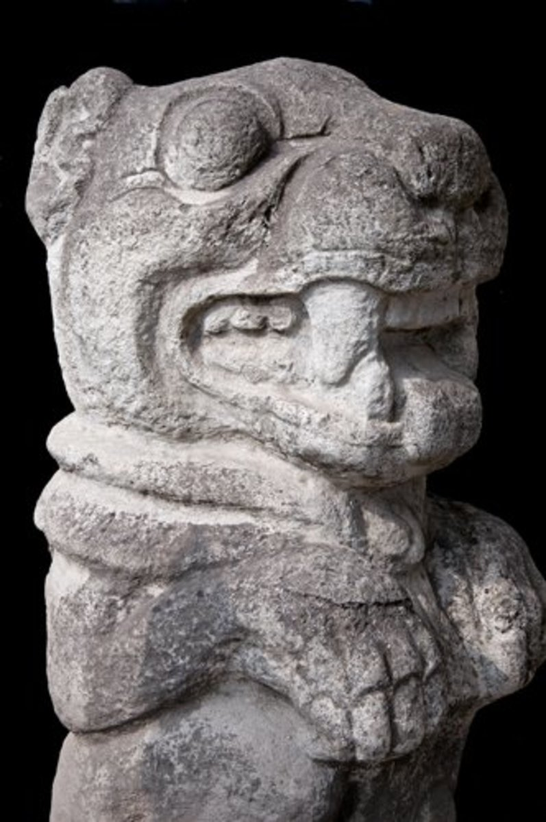 The Sacred Jaguar in stone, El Florido