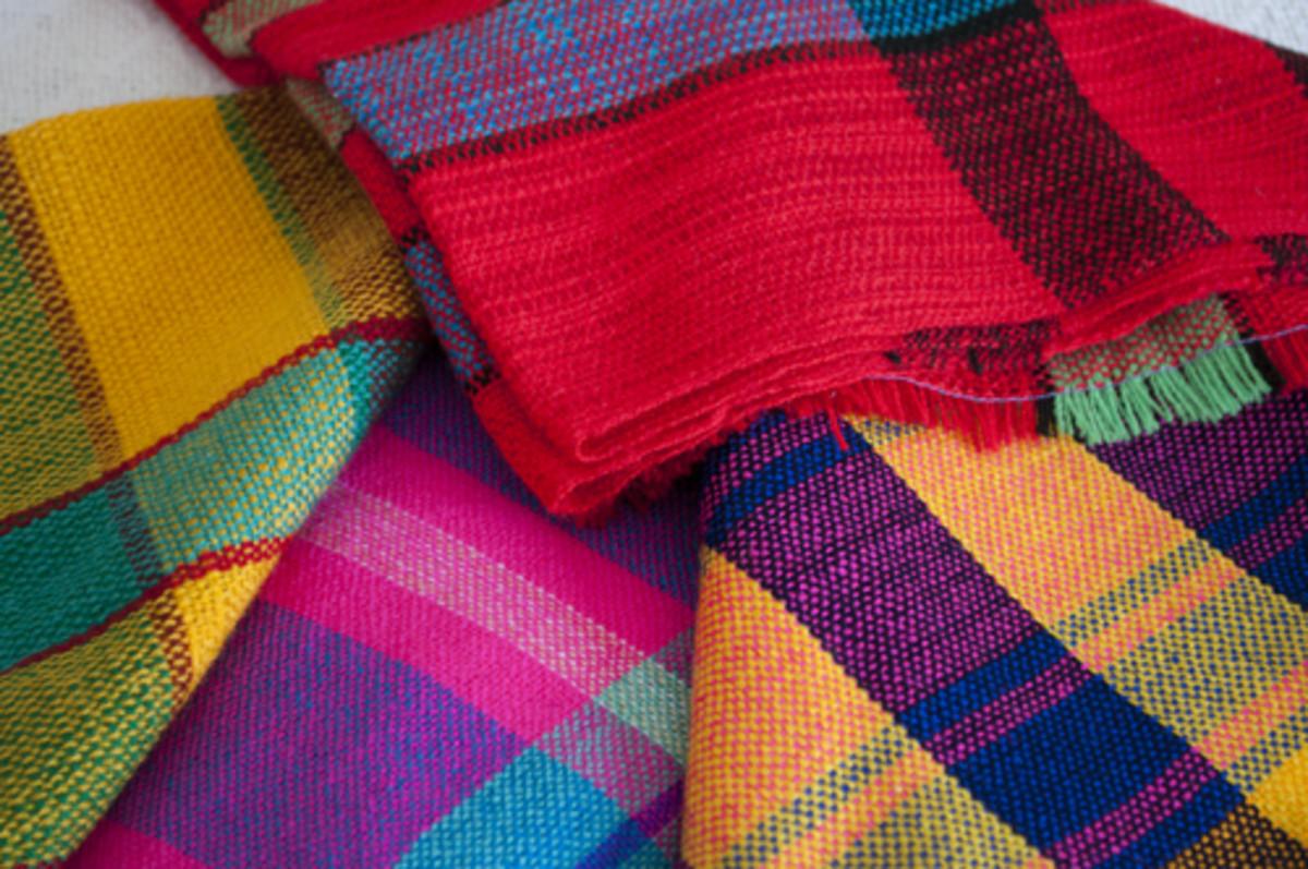 Lenca woven scarves, Intibucá