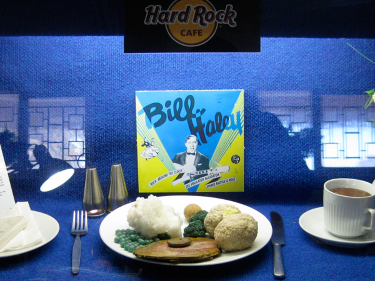 The Hard Rock Cafe is an all round Club favourite. All of the food is made of rocks.