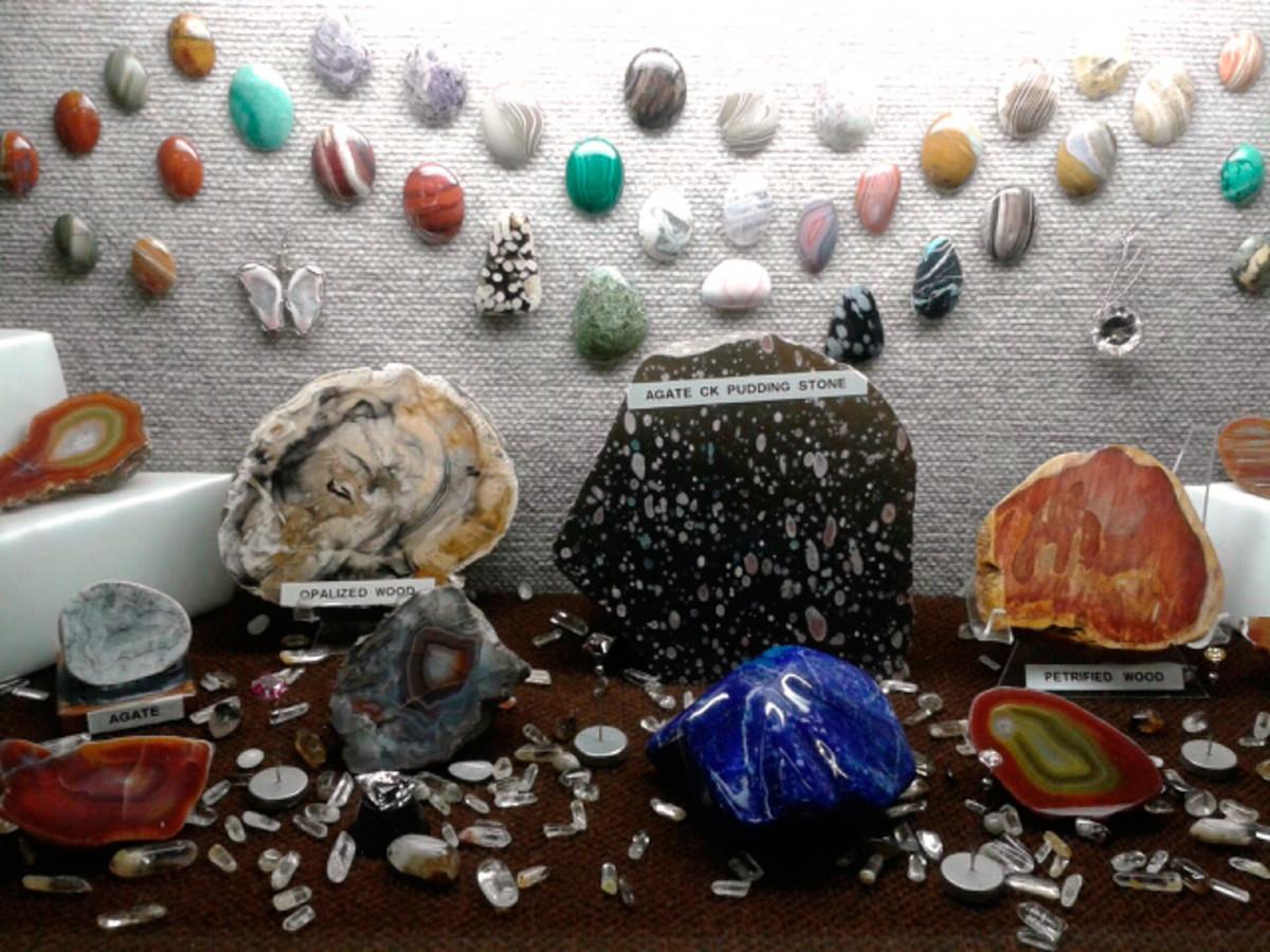 Cabochon display.