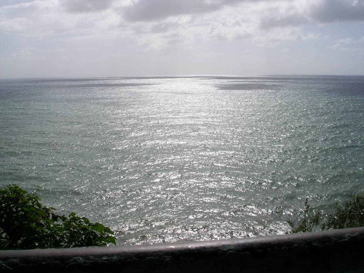 A second view from Cabo Mala Pascua Coast