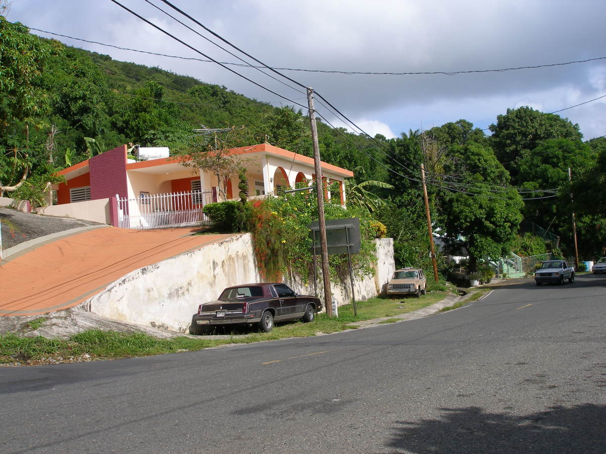Colorful residence near entrance to the town of Patillas