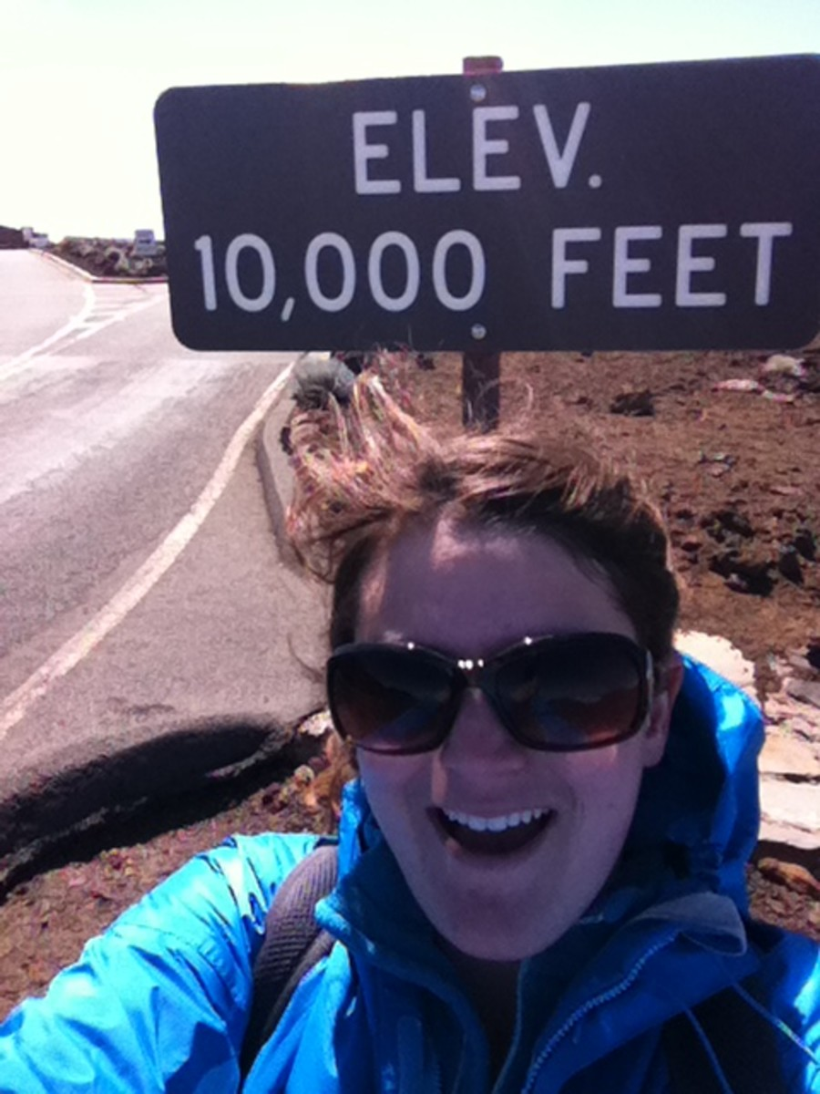 I drove up Haleakala to it's 10,000 ft. summit.  Yes, you will need a jacket for this adventure.  If you can wake up early enough, watching the sun rise from the summit is supposed to be an enlightening expereince.