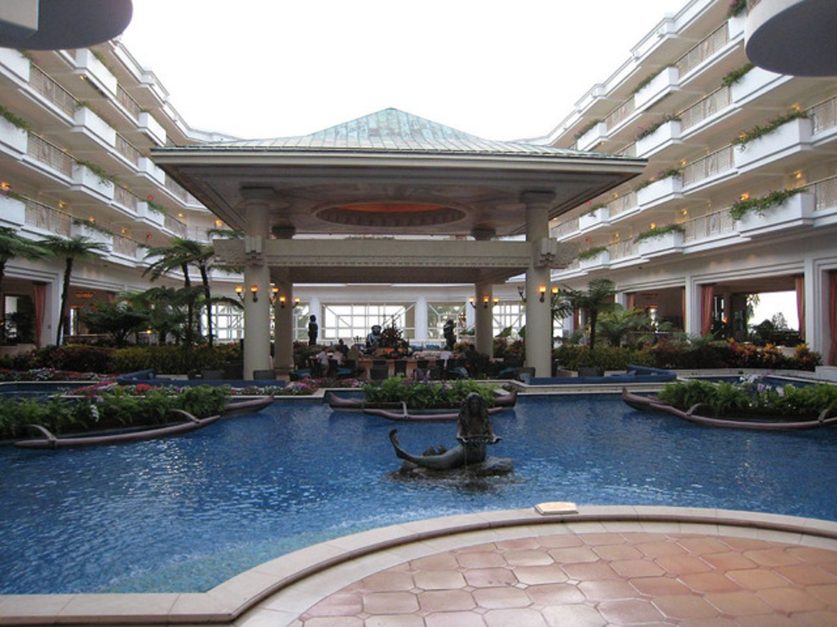 Lobby of the Grand Wailea