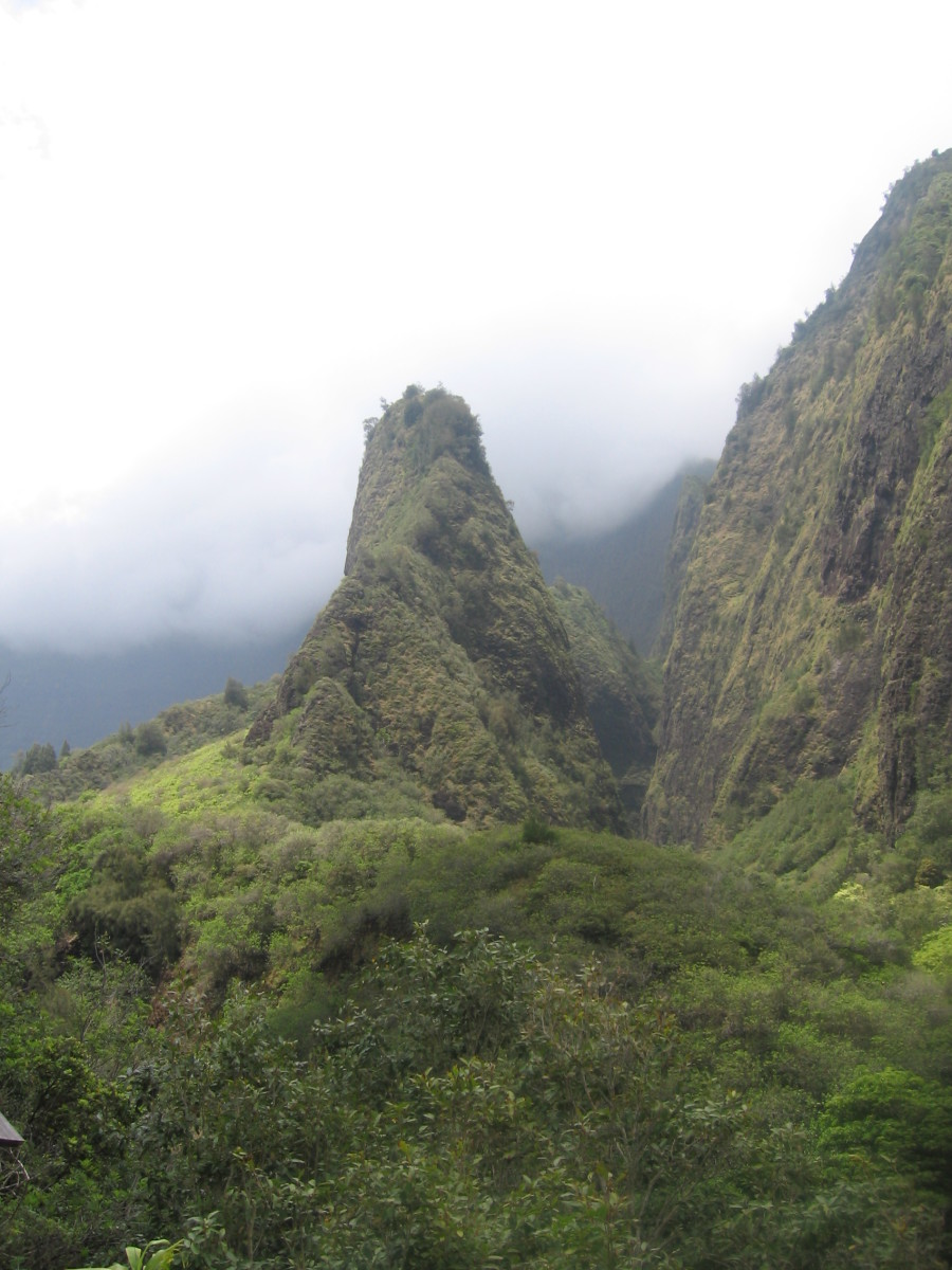 Having a car allowed me to drive to the Lao Valley and hike through it.   A must see for anyone visiting Maui.