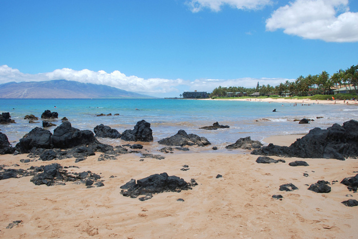 Kihei. With miles of soft sand, it's easy to find your own little corner of the beach.