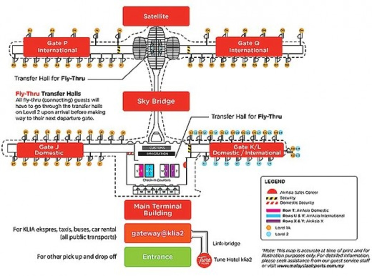 KLIA2 overall layout plan