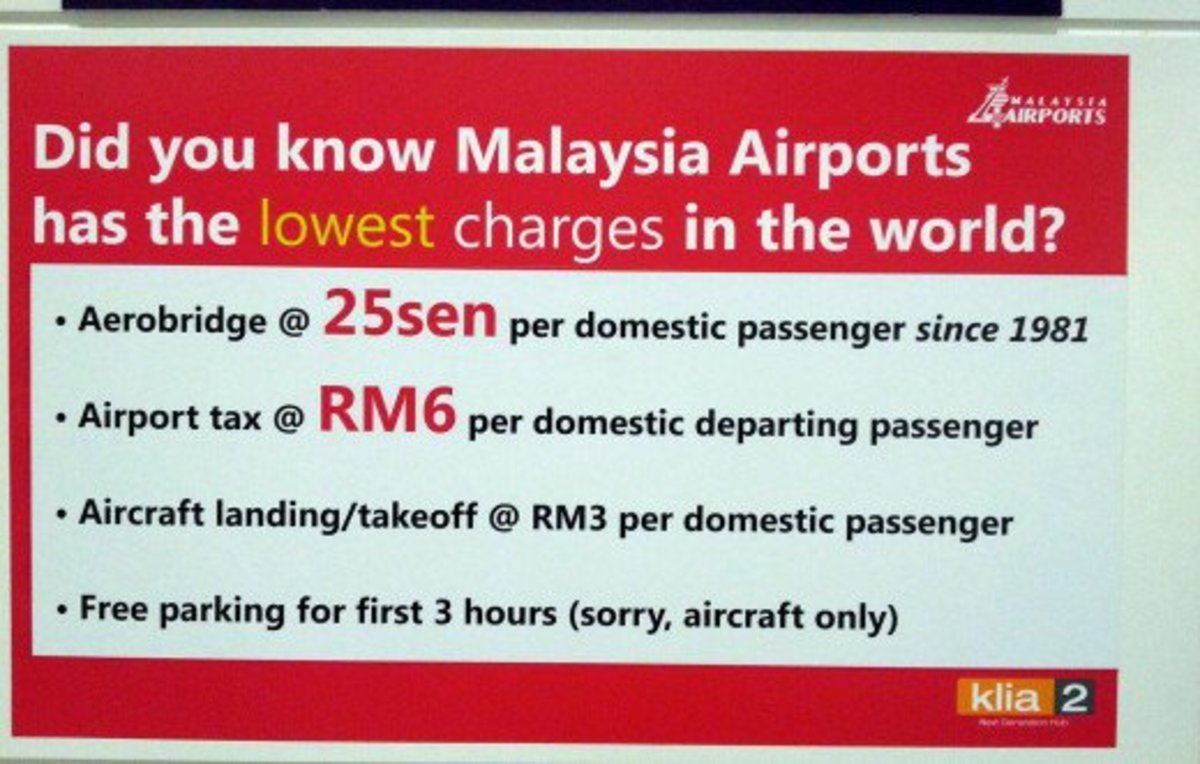 klia2 the cheapest airport in the world?