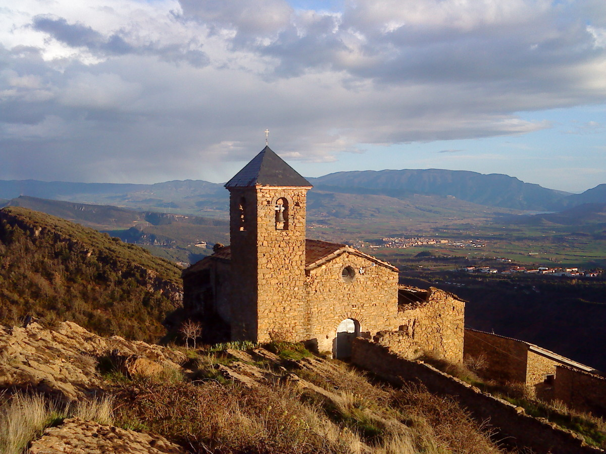 Ancient church in Catalonia