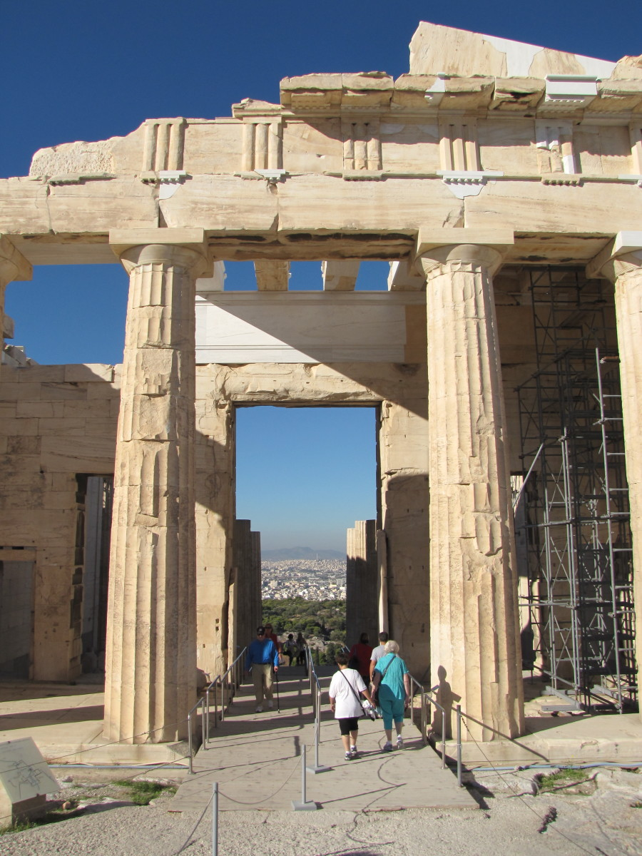Propylaea - Gateway to the Acropolis