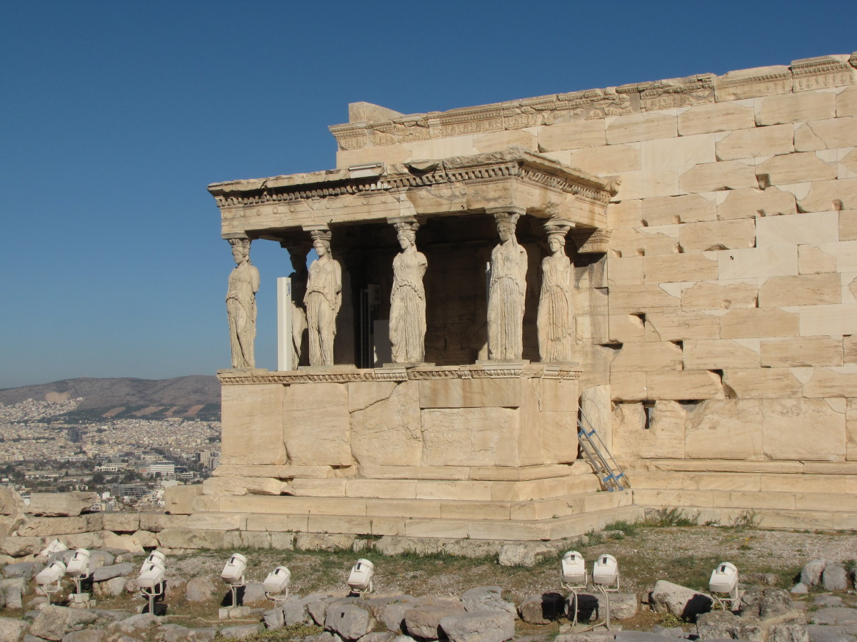 Porch of the Maidens - Erchtheion