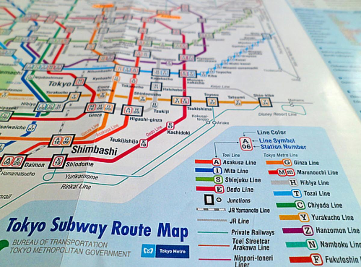 Tokyo Metro Guide subway map