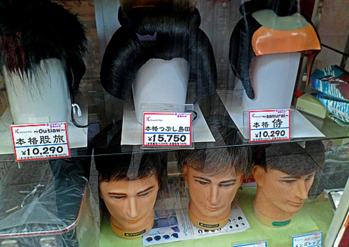 Traditional and modern men's wigs for sale