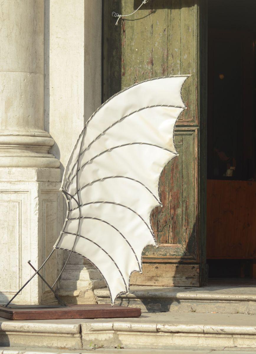 Abstract art outside a Venetian church (c) A. Harrison