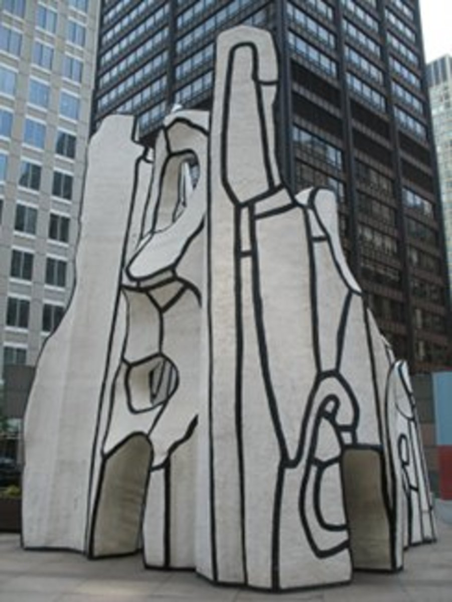 Monument with Standing Beast by Dubuffet