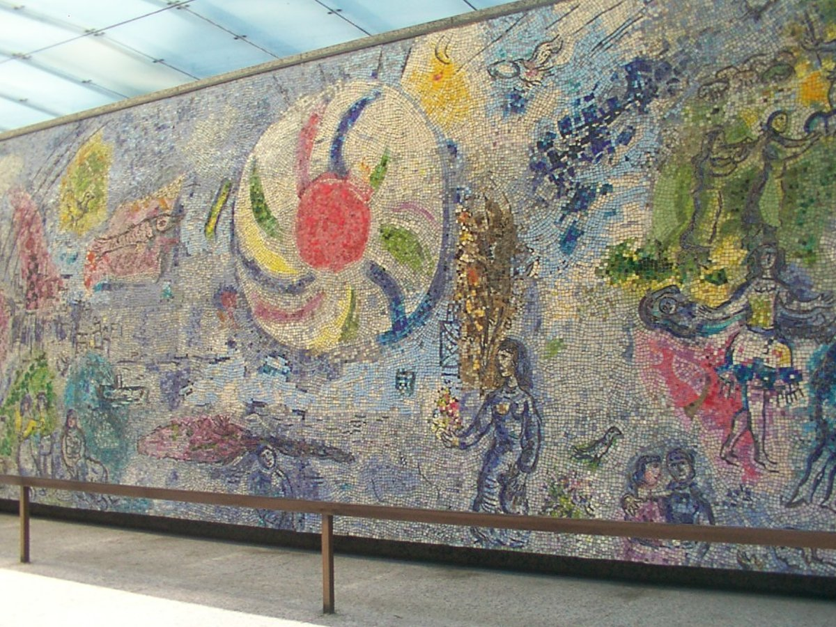 Four Seasons by Chagall