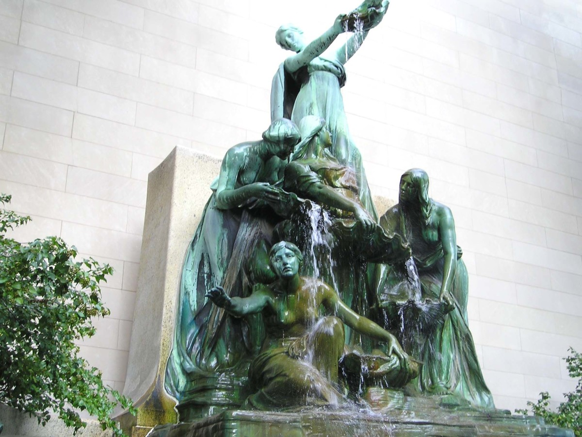 Fountain of the Great Lakes by Taft