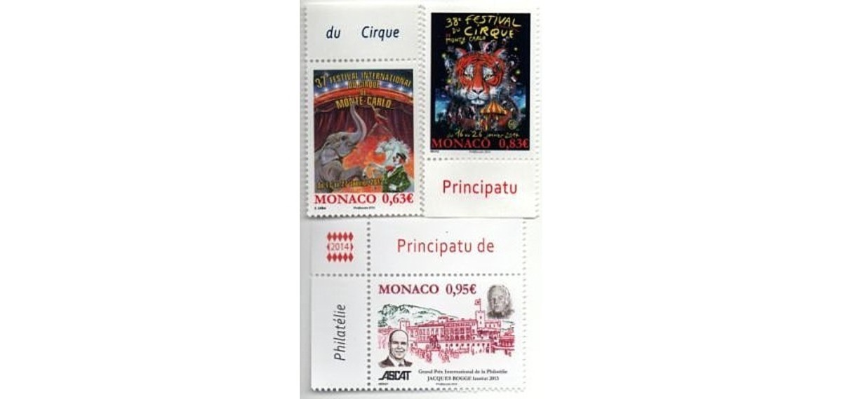 Monagasque stamps