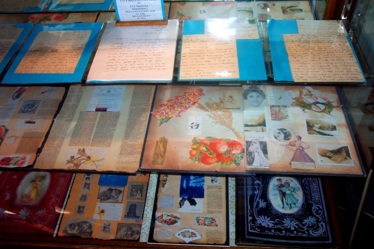 Image: Poetry, Clippings, and Events of L.M. Montgomery's Life, as Preserved and Contained in Scrapbooks