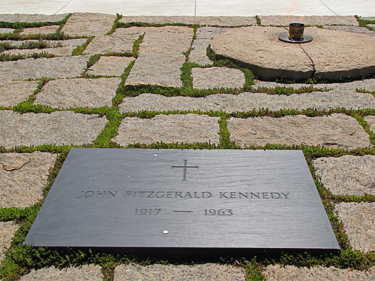JFK Tomb and the Eternal Flame