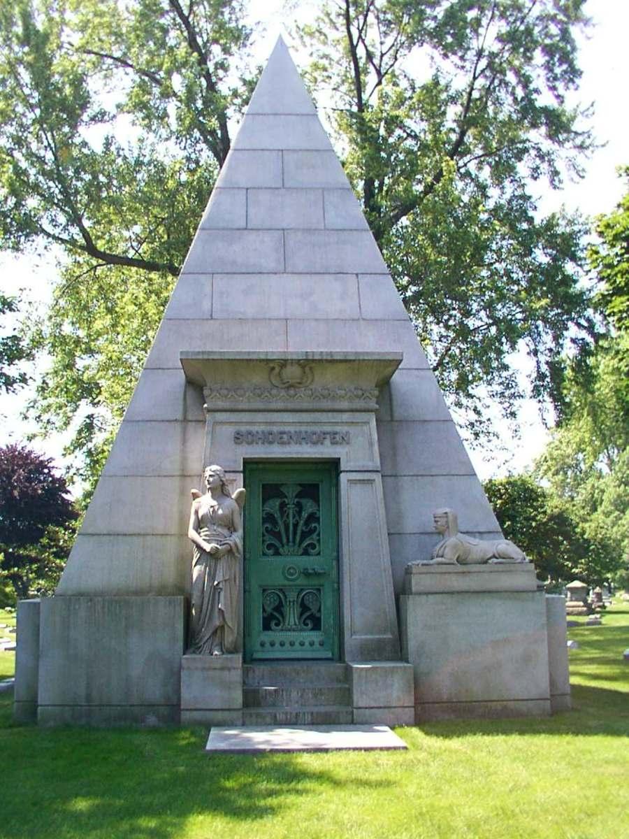 Peter Schoenhofen Tomb