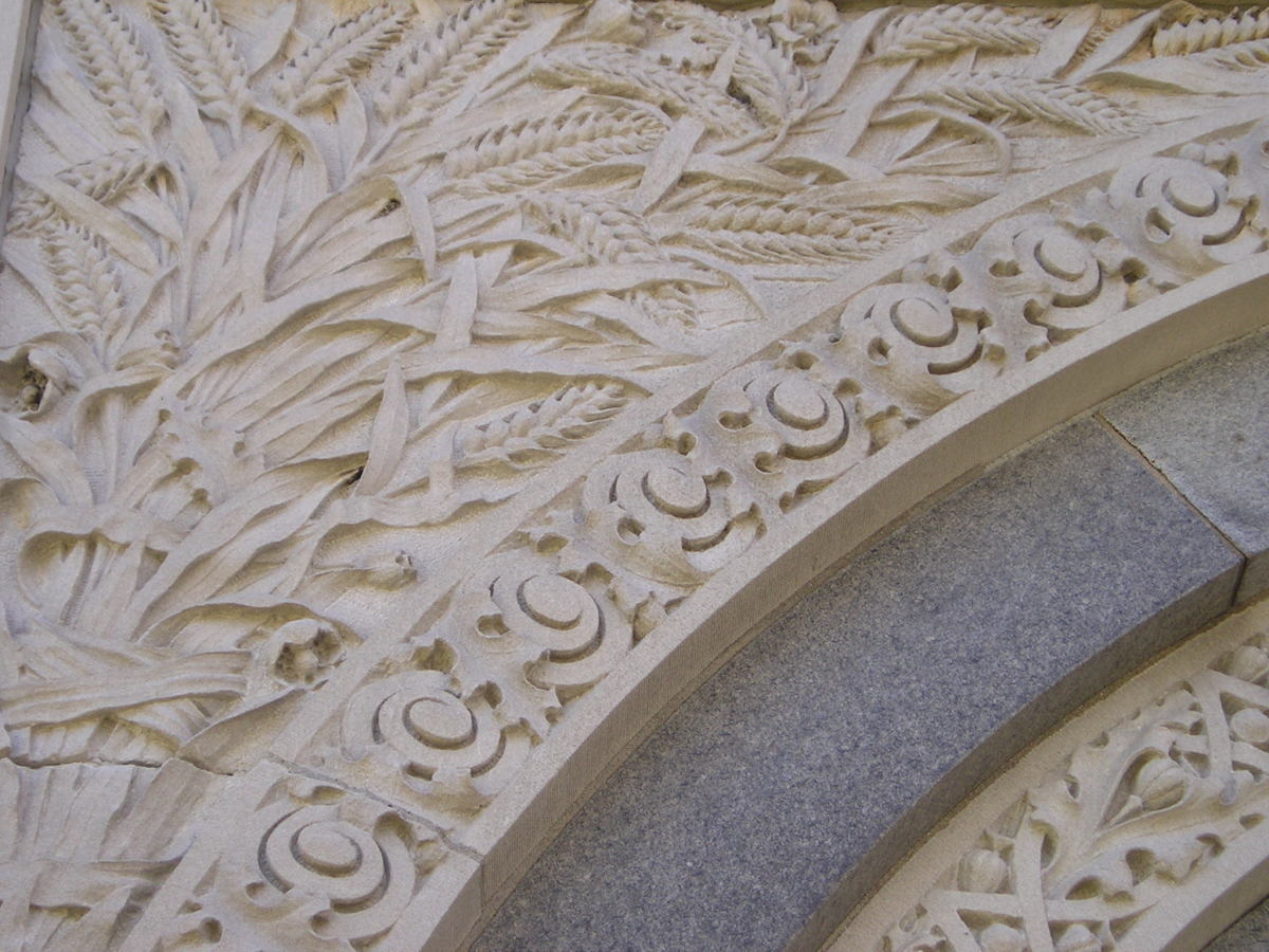 Ornamentation on the Getty Tomb