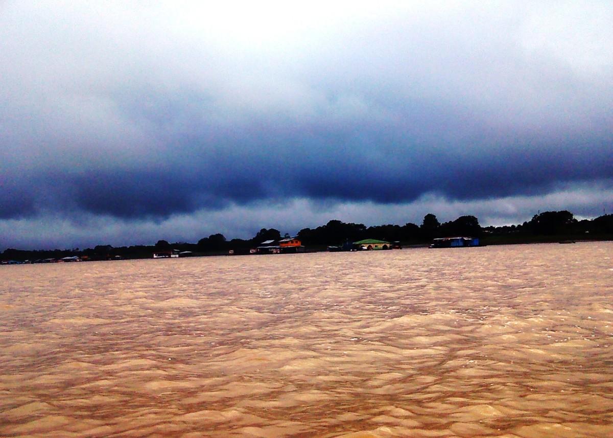 The Amazon near Leticia, Colombia.