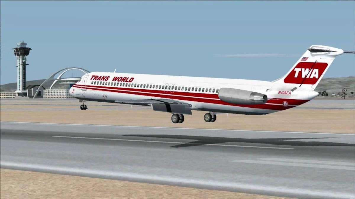 DC9 Landing