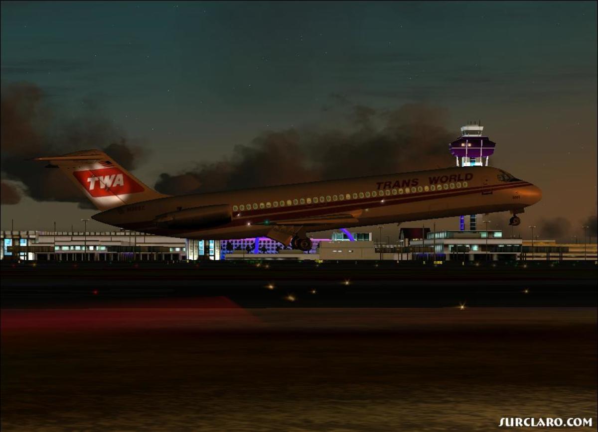 Takeoff DC9