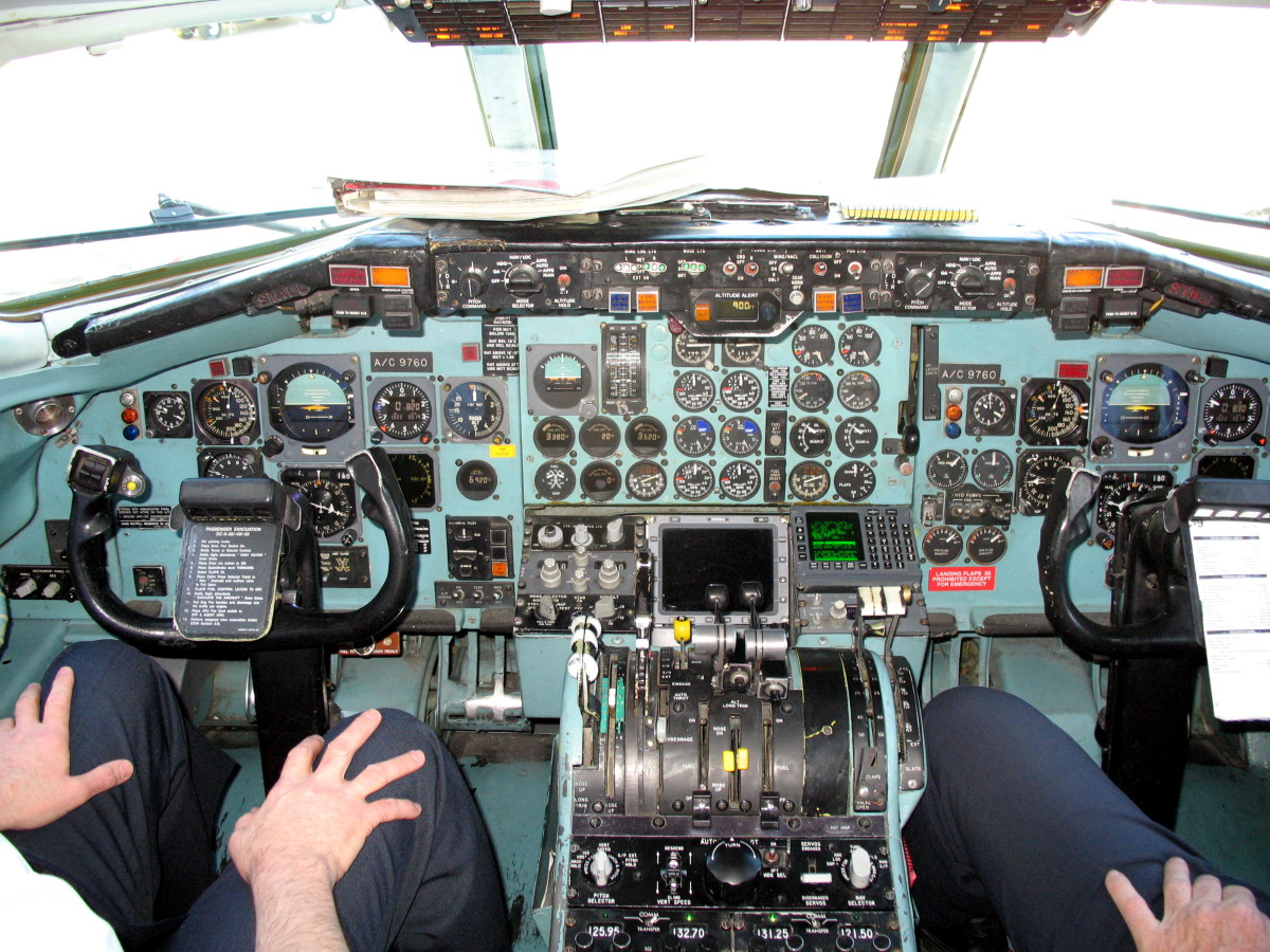 DC9 Flight Deck