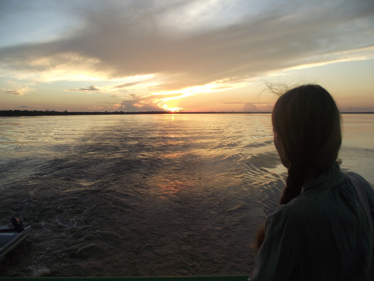 A river sunset near Manaus is a sight to behold. The wondrous skies and reflections on the Amazon will take your breath away.