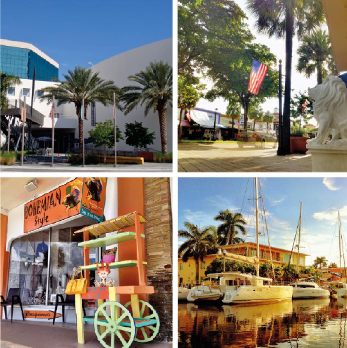 The Four Areas of Las Olas