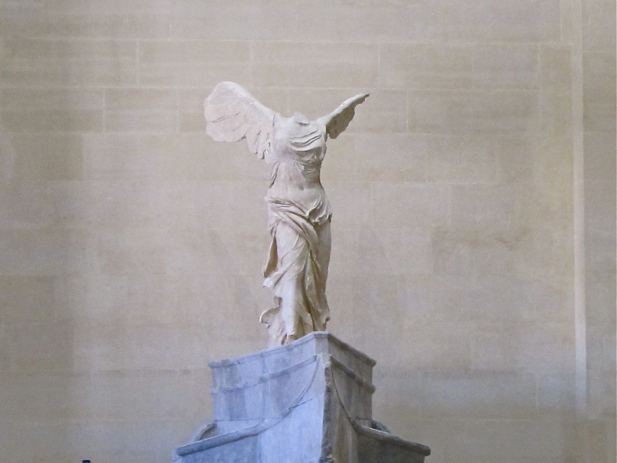 Winged Victory Statue