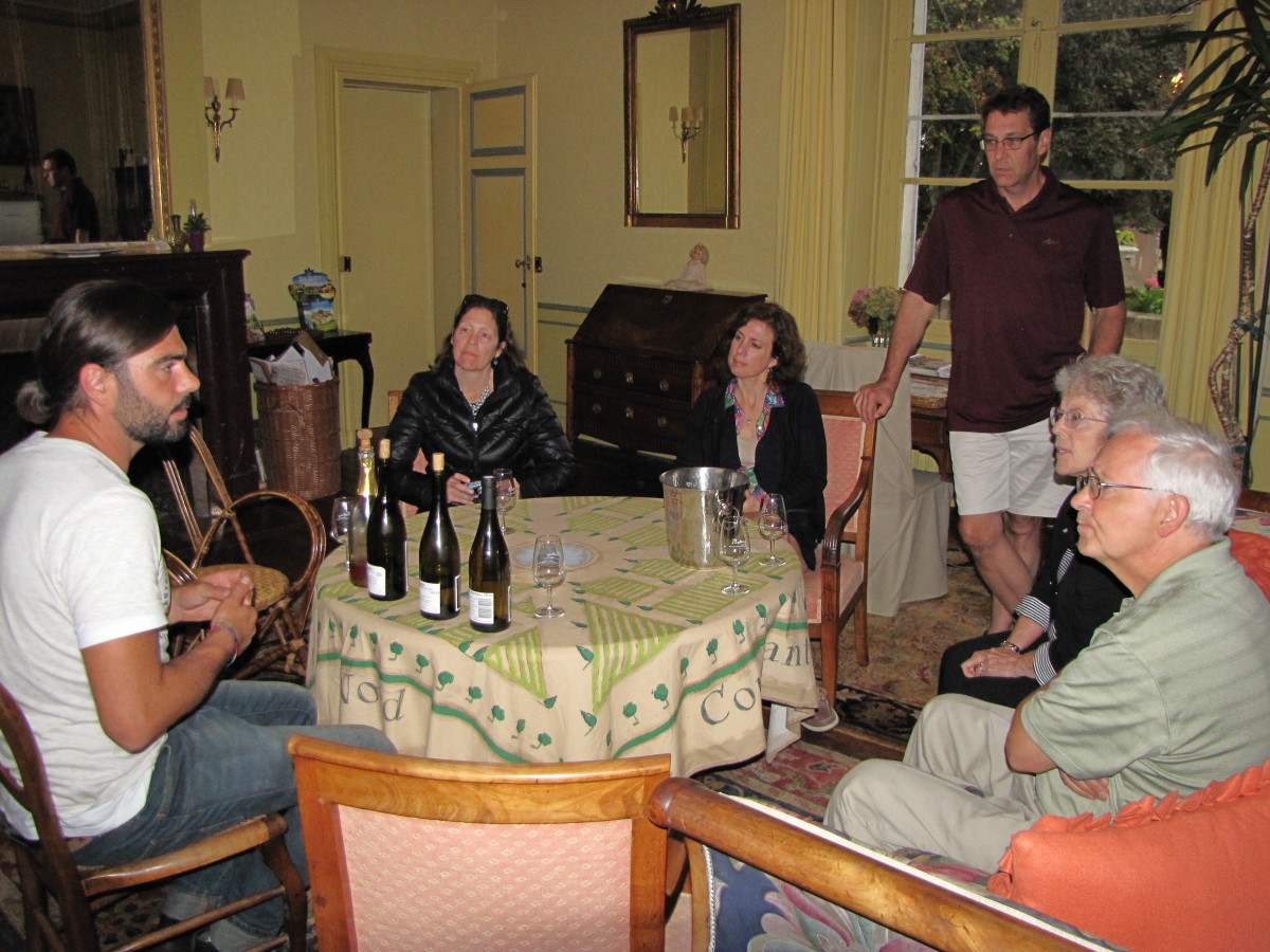 Wine Tasting at Chateau de Pintray with Jean Christophe